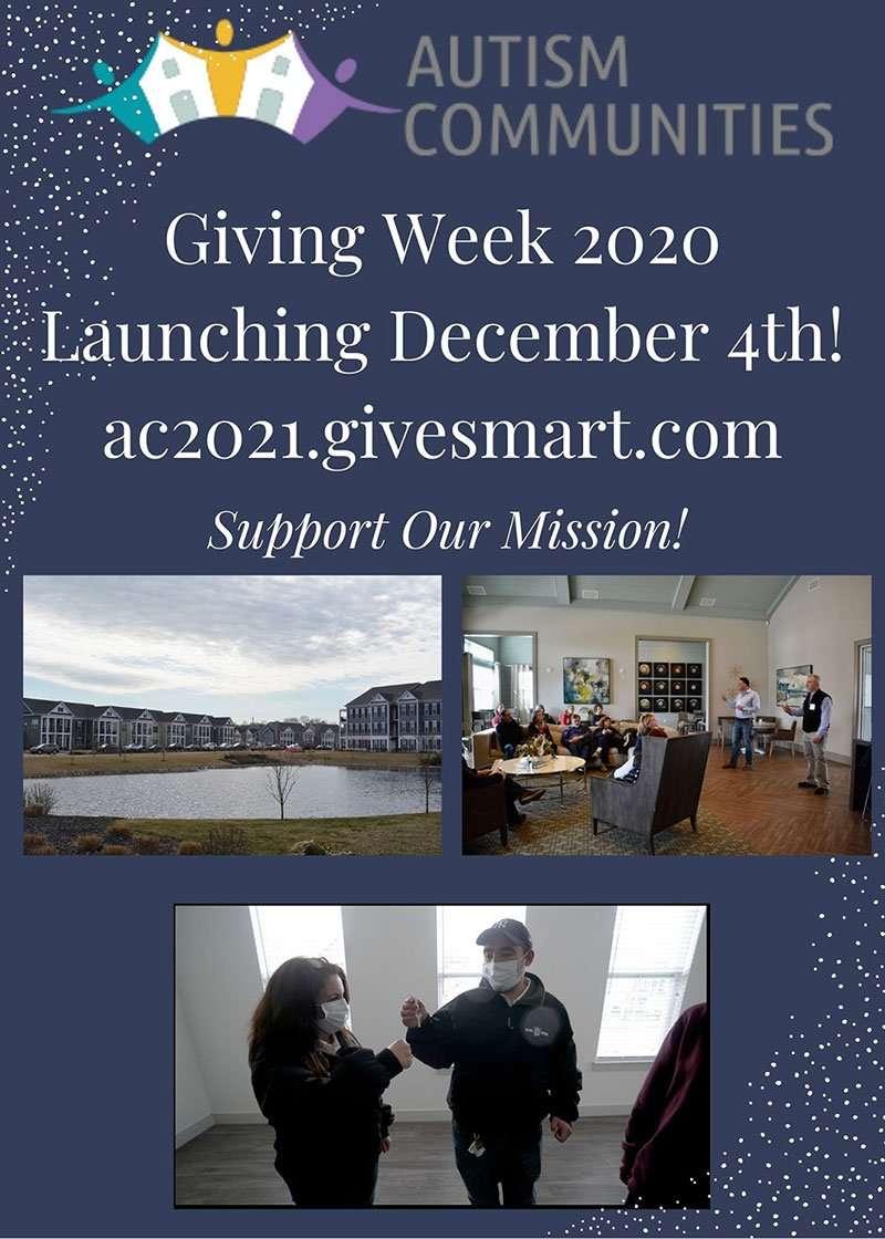 Giving Week Begins December 4th